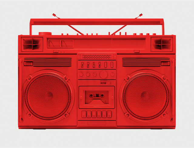 , 'Red Boombox .001,' , Art Angels