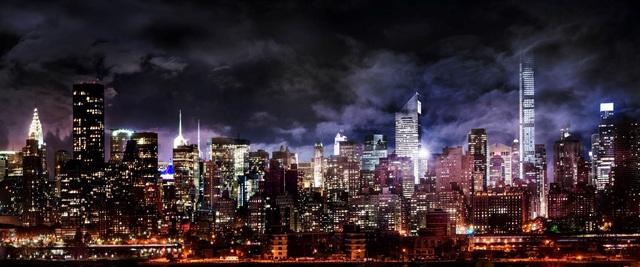 , 'Manhattan Nights,' 2014, Contessa Gallery