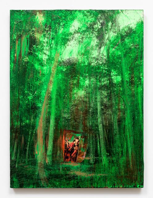 Chris Martin, 'Green Light', 2013, Bronx Museum: Benefit Auction 2018