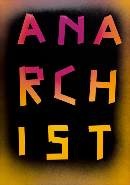 , 'Anarchist,' 2015, Spinello Projects