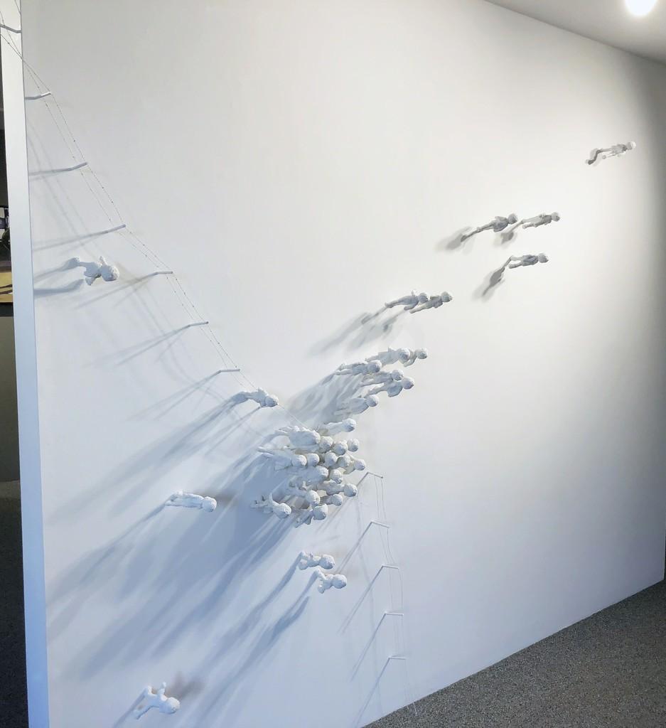 """""""Break"""" Installation by Julie Levesque"""
