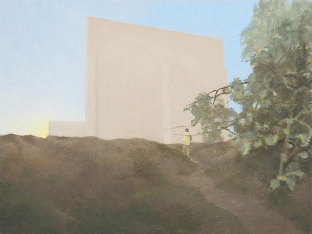 , 'Pared atardecer,' 2015, Galería Utopia Parkway