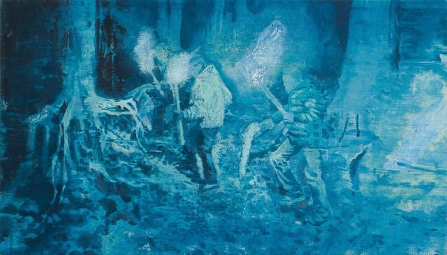 Vlad Yurashko, 'Night torch-bearers', 2017, pop/off/art