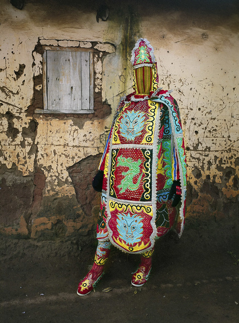 , 'Egungun Masquerade VII,' 2015, SMAC ART GALLERY