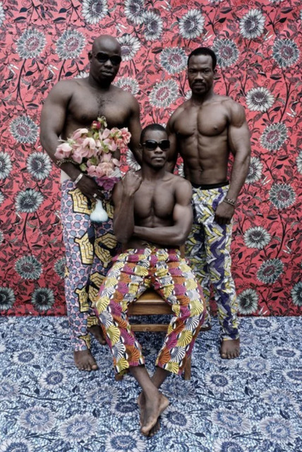 Leonce Raphael Agbodjelou, 'Untitled (Musclemen series)', 2012, Photography, C-print, Artsy x Capsule Auctions