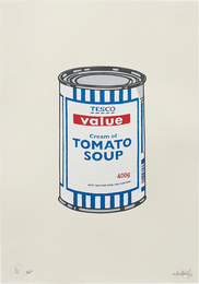 Banksy, 'Soup Can (Original),' 2005, Phillips: Evening and Day Editions