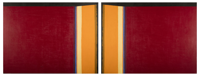 , 'Portals I (Black Fields VII),' 1980, Childs Gallery