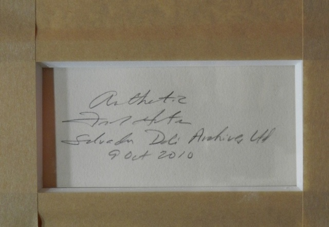 Salvador Dalí, 'Flora Dalinae Pisum Sensuale', 1968, Print, Etching, Fine Art Acquisitions Dali