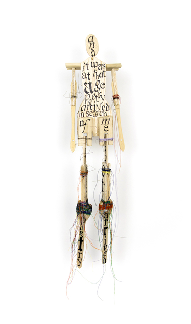 ", '""Poetry"" Wood Sculpture,' 2013, Arthur Roger Gallery"