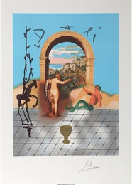 Salvador Dalí, 'Gateway to the New World from the Dali Discovers America Portfolio,' 1979, Heritage Auctions: Valentine's Day Prints & Multiples