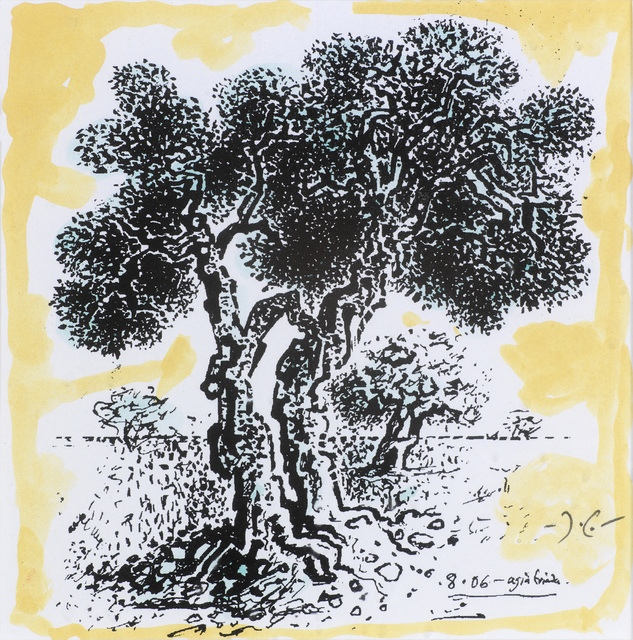 , 'Trees,' 2008, Osborne Samuel