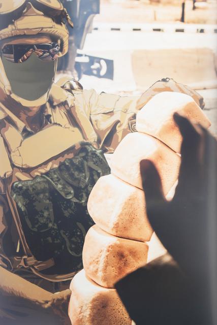 , 'Russian Soldier, Palmyra,' 2017, Nanda\Hobbs