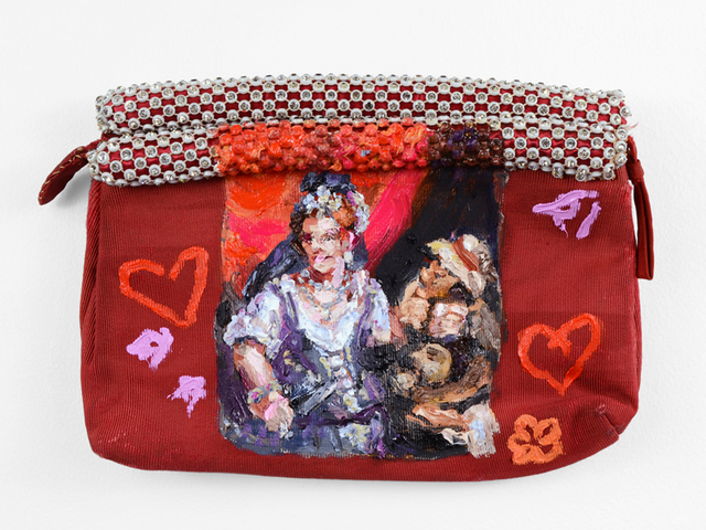 , 'Red Judith Purse (after Fede Galizia),' 2017, Fisher Parrish Gallery