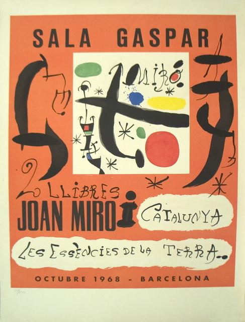 Joan Miró, '2 Llibres: Joan Miro i Catalunya-Les Essencies De La Terra', 1968, ArtWise