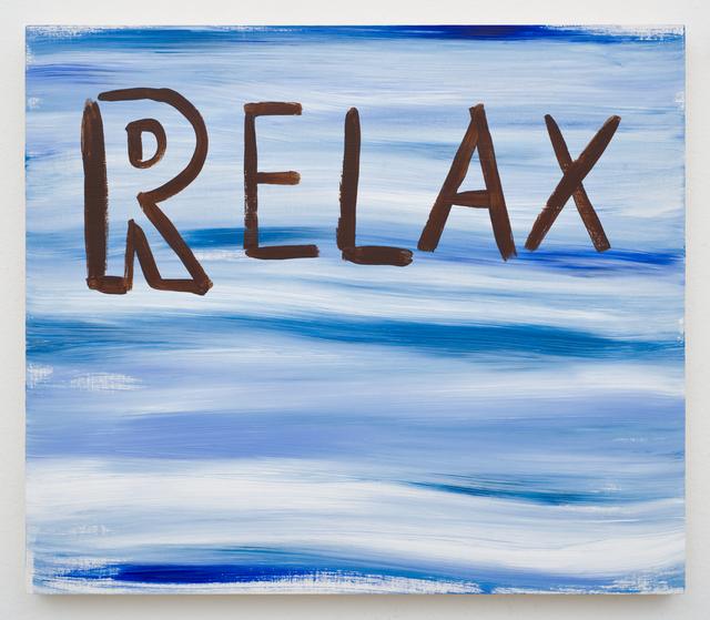 , 'Relax,' 2008, Lora Reynolds Gallery