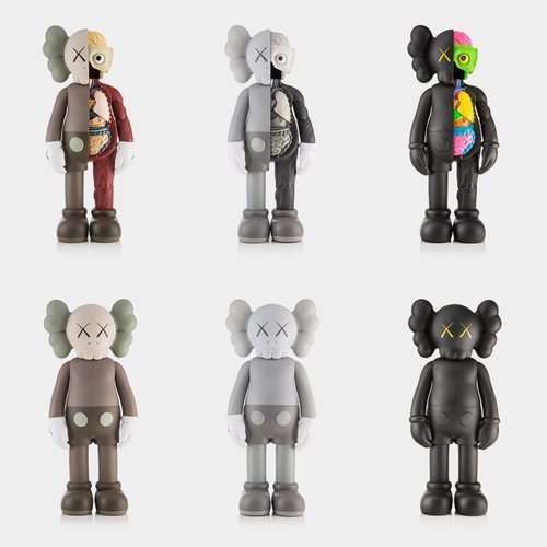 KAWS, 'Set of 6 Companions Open Edition', 2016, Dope! Gallery