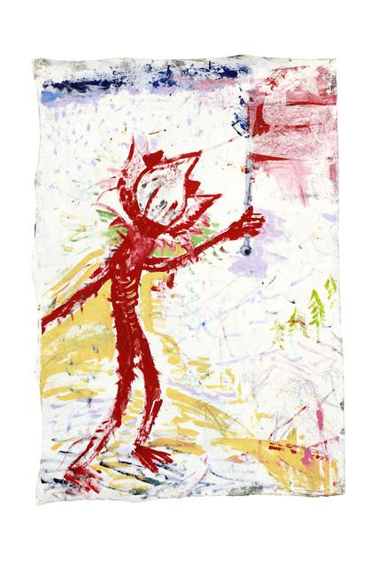 Richard Mason, 'FLOWER 2', 2019, Painting, Acrylic on canvas, 99 Loop Gallery