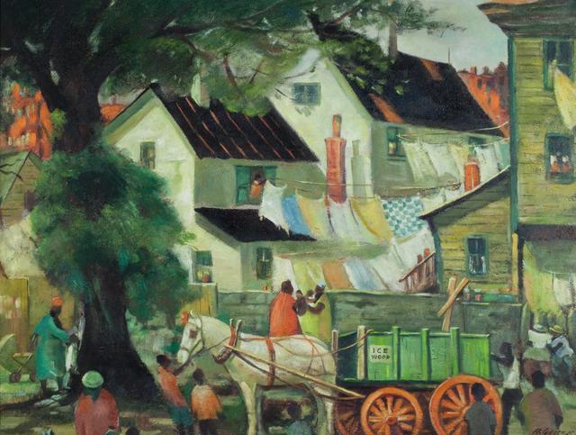 , 'The Ice Wagon,' , Questroyal Fine Art