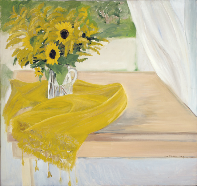 , 'Still Life with Yellow Flowers,' 1968, Tibor de Nagy