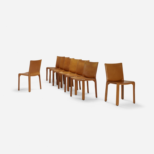 Mario Bellini, 'Cab chairs, set of eight', 1976, Wright