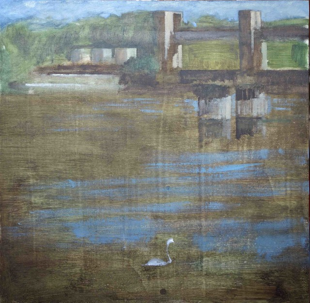 , 'Barrage 2, Mericourt,' 2017, Galerie Pixi - Marie Victoire Poliakoff