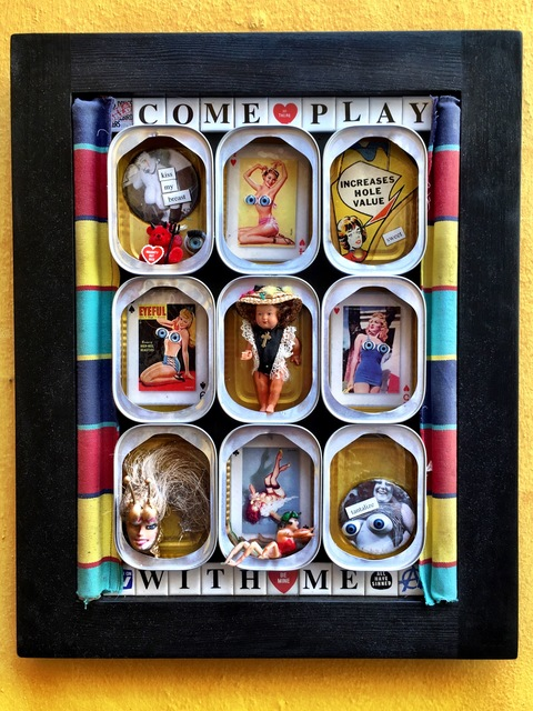 , 'Come play with me,' 2016, Rhodes