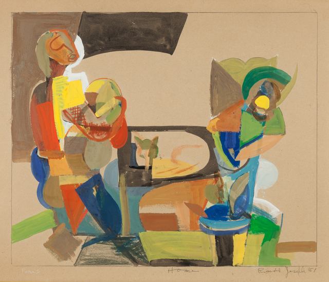 , 'Home - Paris,' 1951, ACA Galleries