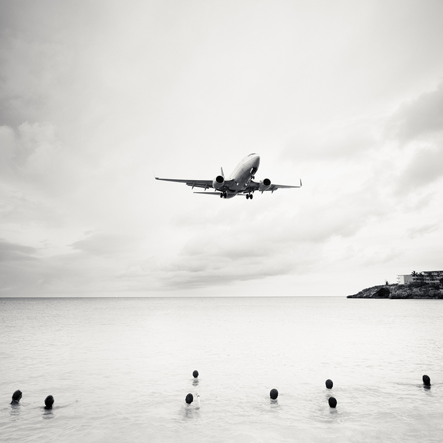 , 'Jet Airliner 60, Continental Airlines Boeing 737-700, St. Maarten,' 2011, Local