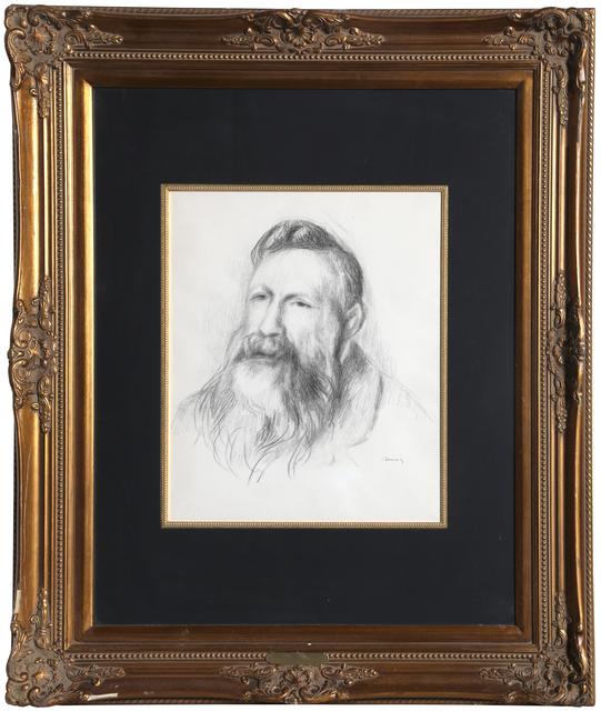Pierre-Auguste Renoir, 'Portrait of Rodin ', ca. 1910, RoGallery