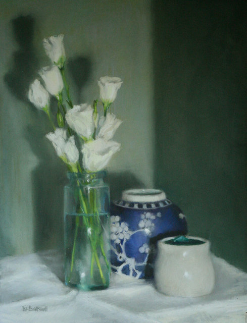 , 'Lisianthus,' , Mall Galleries