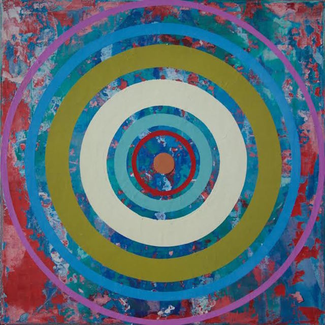 Perry Burns, '3rd Eye Bullseye', 2015, ARC Fine Art LLC