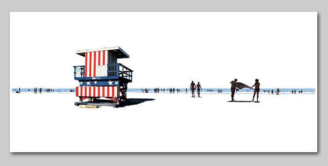 , 'Beach 84,' 2013, Lanoue Gallery