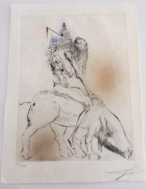 Salvador Dalí, 'Faust - Femme Au Cochon Baubo', 1969, Gregg Shienbaum Fine Art