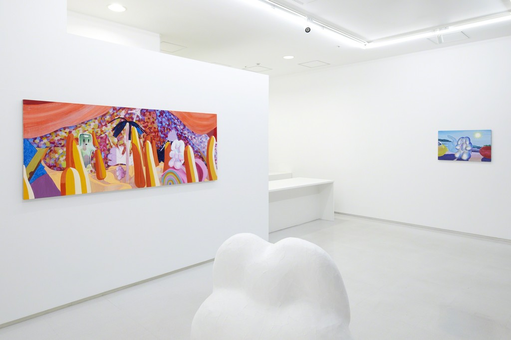 "Installation view from ""Sleeping Stone"" 8/ ART GALLERY/ Tomio Koyama Gallery, 2017 ©Aya Ito, photo by Kenji Takahashi"