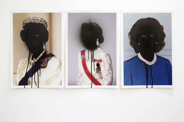 , 'Works from Bloodline series,' 2014, National Gallery of Victoria