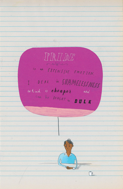 Oliver Jeffers, 'Pride is an Expensive Emotion', 2007, Lazinc