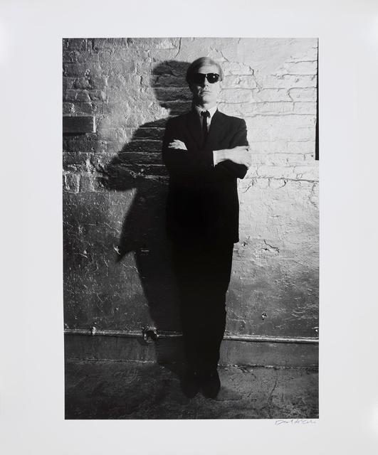 , 'Andy Warhol Against Factory Wall, New York,' 1965, Gagosian
