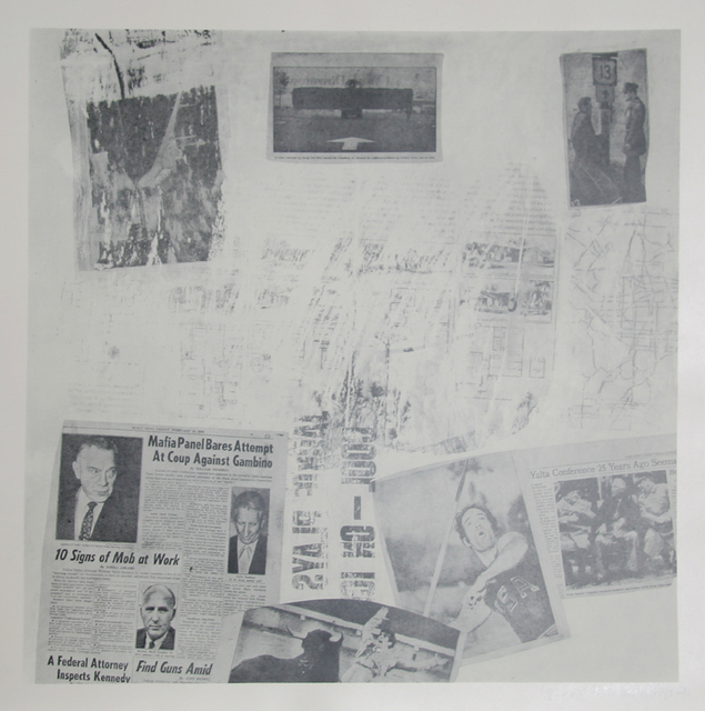Robert Rauschenberg, 'Features from Currents, #72', 1970, RoGallery