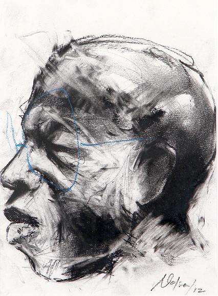 , 'Self Portrait,' 2012, DALE SARGENT FINE ART