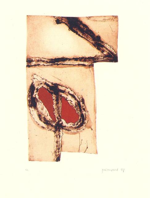 Josep Guinovart, 'Imatges i terra 5', 1991, Polígrafa Obra Gráfica