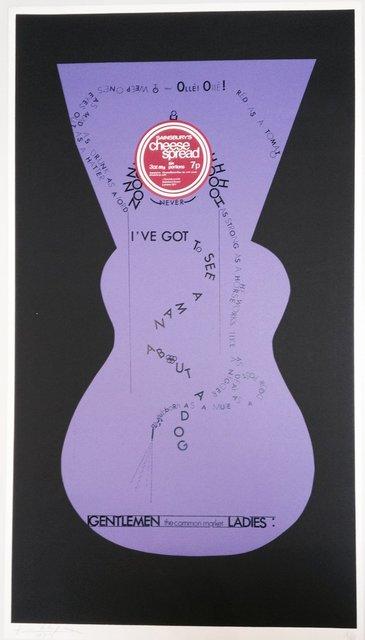 , 'Gentlmen the common market Ladies,' 1973, Richard Saltoun