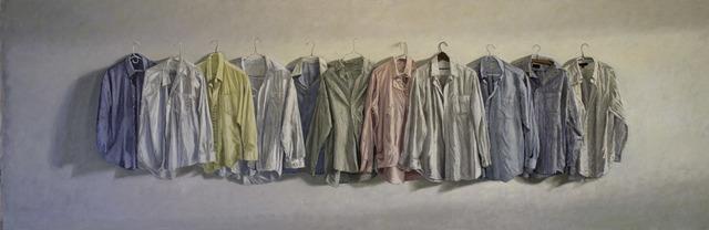 , '11 Shirts at 4:19 PM,' 2018, Eckert Fine Art