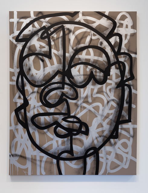 , 'Set teeth in silver moon,' 2016, Erin Cluley Gallery