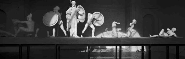 , 'Aeginetensaal, Glyptothek, München,' 1981, Walter Storms Galerie