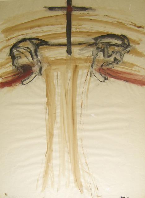 , 'Cross on Bomb,' 1968, Galerie Lelong