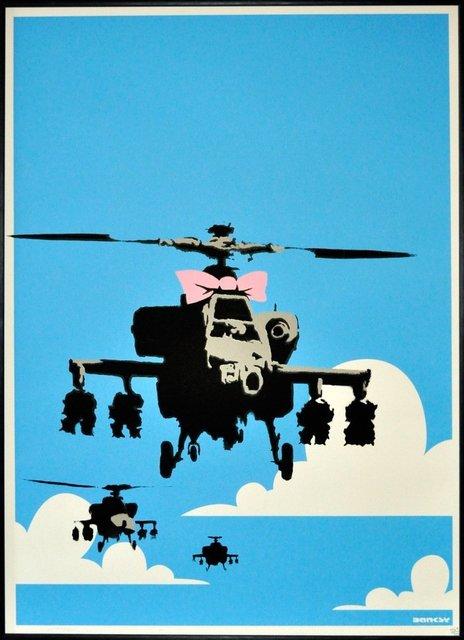 Banksy, 'Happy Choppers, 2003 (unsigned)', 2017-2019, Bel-Air Fine Art