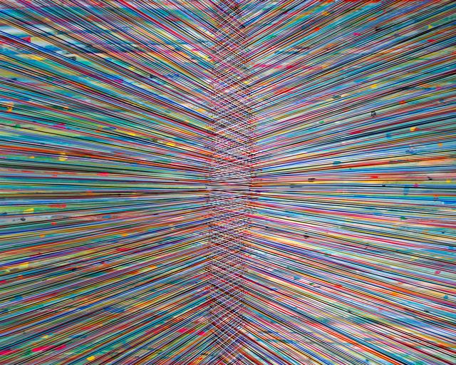 , 'Single Event (Divide-Printemps),' 2016, Newzones