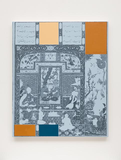 , 'Geometric Painting 16,' 2018, GNYP Gallery