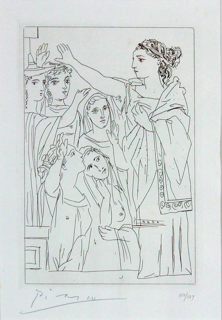 , 'Serment Des Femmes II (From Lysistrata),' 1934, Gormleys Fine Art