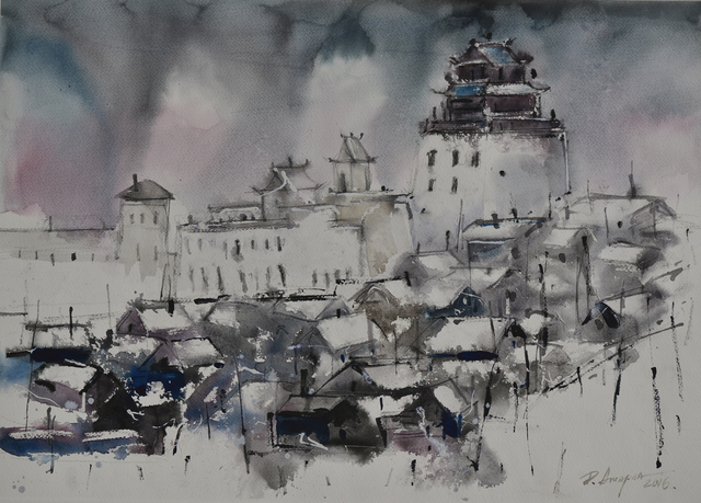 , 'Landscape of the Ulaanbaatar city,' 2016, Best Art Gallery